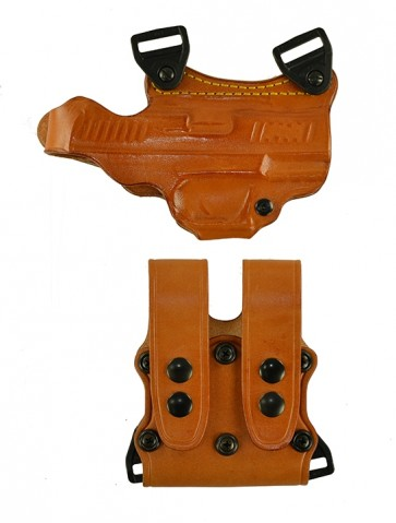 """Under Taker for a Walther CCP 3.54"""", r/h, Cowhide, Natural, Unlined"""