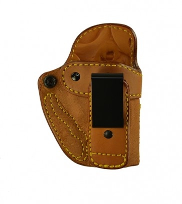"Alter Ego for a Ruger SP101 2.25"", r/h, Cowhide, Natural, Tuckable"