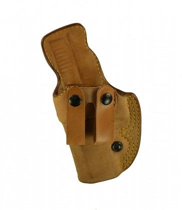 Down Under for a Glock 17,22,31, l/h, Horsehide, Natural, Straps