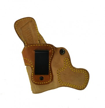 "Tail Gunner for a H&K VP9 SK 3.39"", l/h, Horsehide, Natural, Clip"