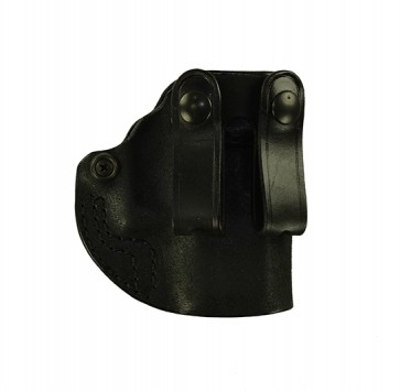 Hideaway for a Glock 26,27,33, r/h, Horsehide, Black, Straps