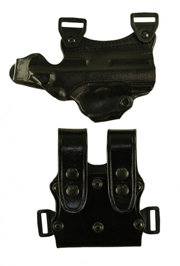 """Under Taker for a CZ 75 SP01 4.7"""", r/h, Cowhide, Black, Unlined"""