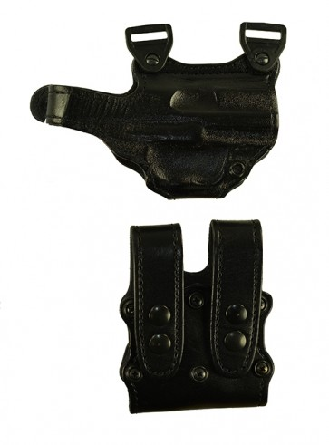 "Under Taker for a H&K USP 4.25"", r/h, Cowhide, Black, Lined"
