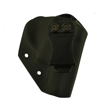 Reaction Lite for a Ruger LCR w/ Crimson Trace, r/h, Kydex, Black, Canted, Clip