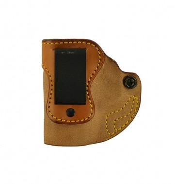 "Hideaway for a S&W M&P Shield 3.1"", l/h, Cowhide, Natural, Clip"