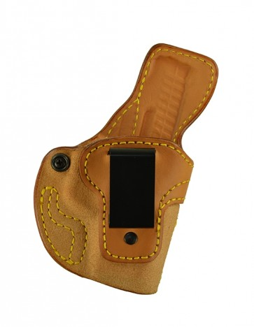 Down Under for a Walther PPS, r/h, Cowhide, Natural, Clip