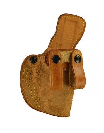 Down Under for a Glock 19,23,32 w/ Crimson Trace Laser, r/h, Cowhide, Natural, Straps