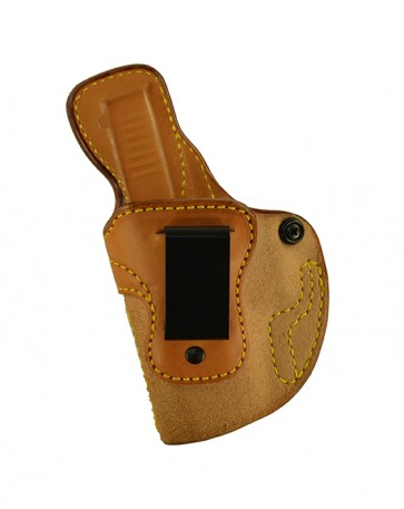 Down Under for a Glock 19,23,32, l/h, Cowhide, Natural, Clip
