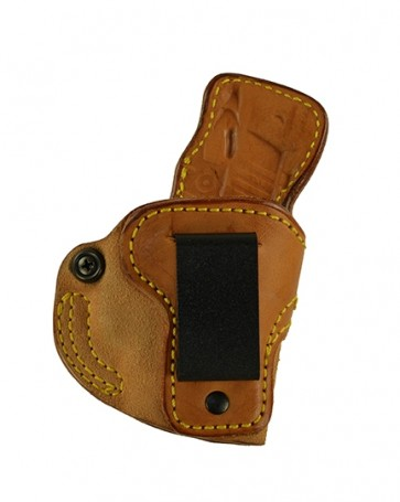 Down Under for a Sig 238 w/ Crimson Trace Laser, r/h, Cowhide, Natural, Clip