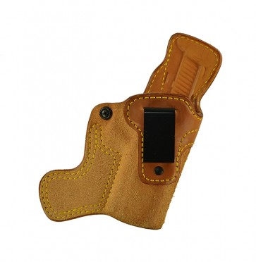 """Tail Gunner for a Sig 320 Full Size 4.7"""", r/h, Cowhide, Natural, Clip"""