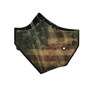 "Patriot for a Sig 320 C 3.9"", l/h, Kydex, American Flag Front, Black Back, Canted"