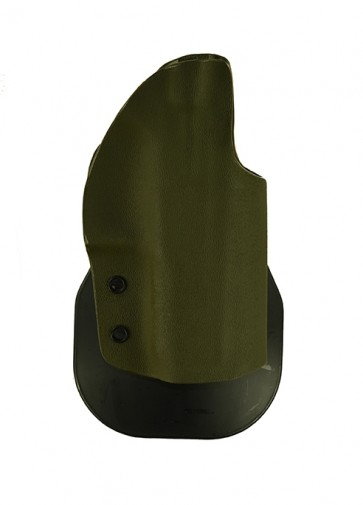 "Zero Tolerance Medium for a CZ P07 Duty 3.8"" w/ RMR, r/h, Kydex, OD Green, Paddle, Straight Drop"