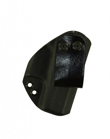Reaction Lite for a Glock 42, r/h, Kydex, Black, Canted, Strap