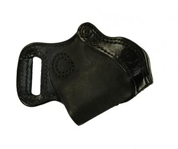 "Bottom Line for a S&W M&P Shield 3.1"", r/h, Cowhide, Black"