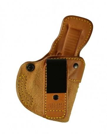 Closing Argument for a Glock 26,27,33, r/h, Cowhide, Natural, Tuckable