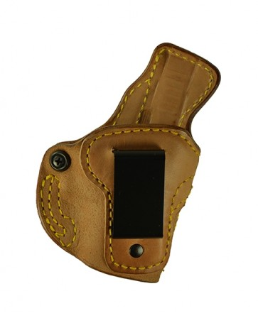 Down Under for a Glock 42, r/h, Horsehide, Natural, Clip