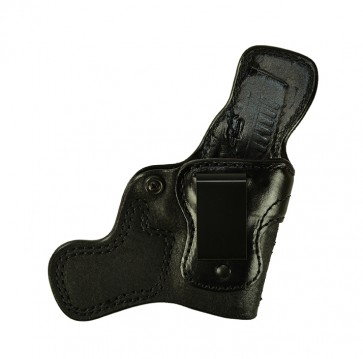 """Tail Gunner for a Springfield XDS 3.3"""", r/h, Cowhide, Black, Clip"""