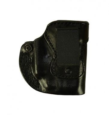 Hideaway for a Glock 26,27,33 w/ Crimson Trace Laser, r/h, Cowhide, Black, Clip