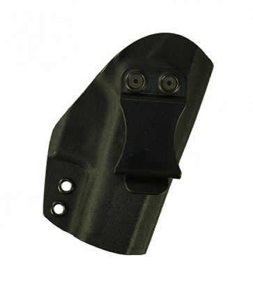 Reaction Lite for a Glock 42, r/h, Kydex, Black, Canted, Clip