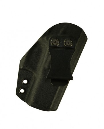Reaction Lite for a Glock 43, r/h, Kydex, Black, Canted, Clip
