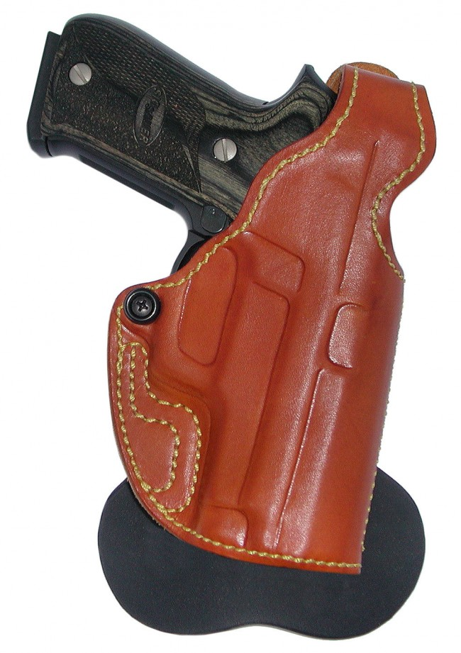 Spanky - Leather Paddle Holster - High Noon Holsters