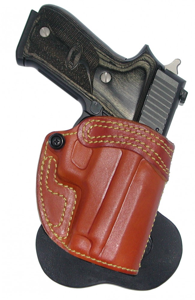 Speedy Spanky - Leather Paddle Holster - High Noon Holsters