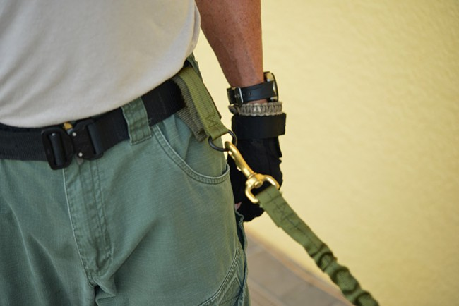 K9 Tactical Lanyard with Quick Release - K9 Gear - High Noon