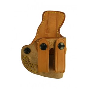 Public Secret for a Glock 42, r/h, Cowhide, Natural, Straps