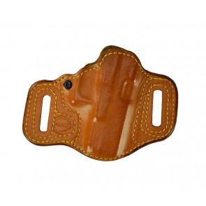 Slide Guard for a Glock 19,23,32, l/h, Cowhide, Natural, Lined