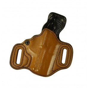 "Exotic Slide Guard for a H&K Compact 3.58"", r/h, Kangaroo, Light Brown, Leather Lined"