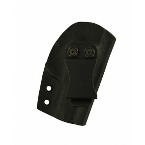 """Reaction Lite for a Kimber Micro 9 3.15"""", r/h, Kydex, Black, Canted, Clip"""