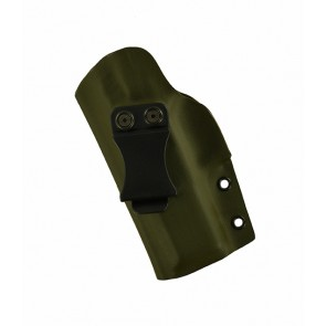 Reaction Lite for a Walther PPQ, l/h, Kydex, OD Green, Cant, Clip