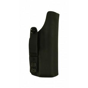 Instinct Lite for a CZ P-10 C, r/h, Black, Kydex, Straight Drop, Webbing Belt Strap