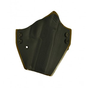 """Perimeter for a Sig 320 4.7"""", r/h, Black Front, Coyote Brown Back, Cant"""