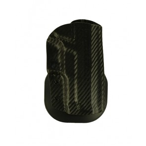 """Zero Tolerance Extreme for a Sig 229R 3.9"""", r/h, Kydex, Carbon Fiber, Paddle, Straight Drop"""