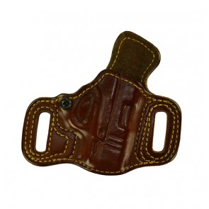 """Slide Guard for a Springfield Hellcat 3"""", r/h, Cowhide, Tan, Lined"""