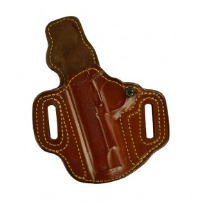 """Slide Guard for a 1911 4"""", 4.25"""", l/h, Cowhide, Tan, Lined"""