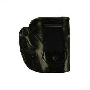 Hideaway for a Sig 239, r/h, Cowhide - Smooth Side Out, Black, Clip