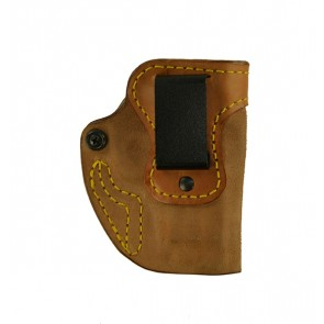 Hideaway for a CZ 75C, r/h, Horsehide, Natural, Clip