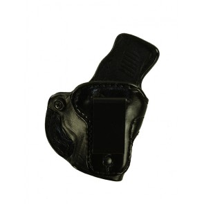 """Down Under for a Sig 365 3.1"""", r/h, Cowhide - Smooth Side Out, Black, Clip"""
