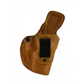 Down Under for a Glock 19,23,32, r/h, Horsehide - Smooth Side Out, Natural, Clip