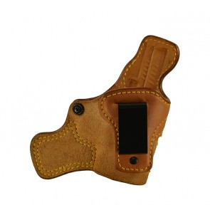 """Tail Gunner for a Springfield XD 3"""", r/h, Cowhide, Natural, Clip"""