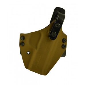 """War Hammer Lite for a S&W M&P 4.25"""", r/h, Kydex, Coyote Brown, Canted"""