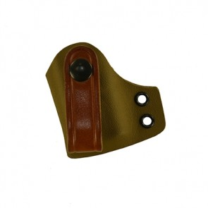 IWB Medium Magazine Carrier for a Glock 26,27,33, l/h draw, Kydex, Coyote Brown, Canted