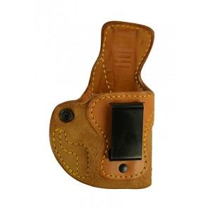 Public Secret for a Glock 43, r/h, Cowhide, Natural, Clip