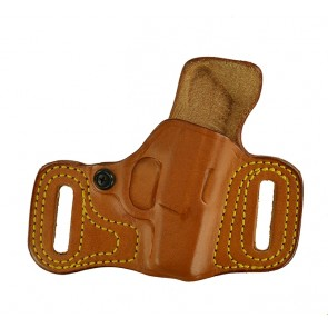 Slide Guard for a Kel Tec P-3AT, r/h, Cowhide, Natural, Unlined