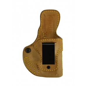 Public Secret for a Glock 26,27,33, r/h, Horsehide, Natural, Clip