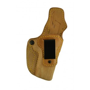 "Down Under for a 1911 4"", 4.25"", r/h, Horsehide, Natural, Clip"