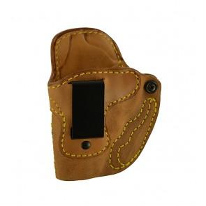 Public Secret for a S&W J Frame, l/h, Horsehide, Natural, Clip