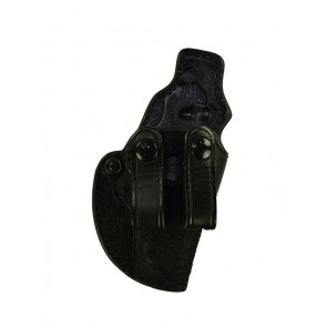 Down Under for a Walther PPK, PPKS, r/h, Cowhide, Black, Straps